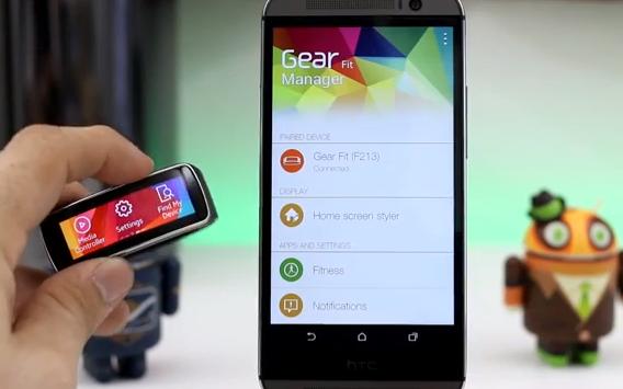Samsung Gear Fit lze spárovat téměř s jakýmkoliv Androidem – neoficiálně