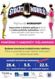 Strážci mobilů workshopy