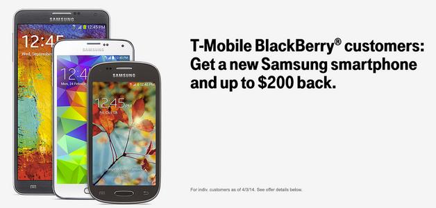 Tvrdá rána pro BlackBerry od amerického operátora T-Mobile