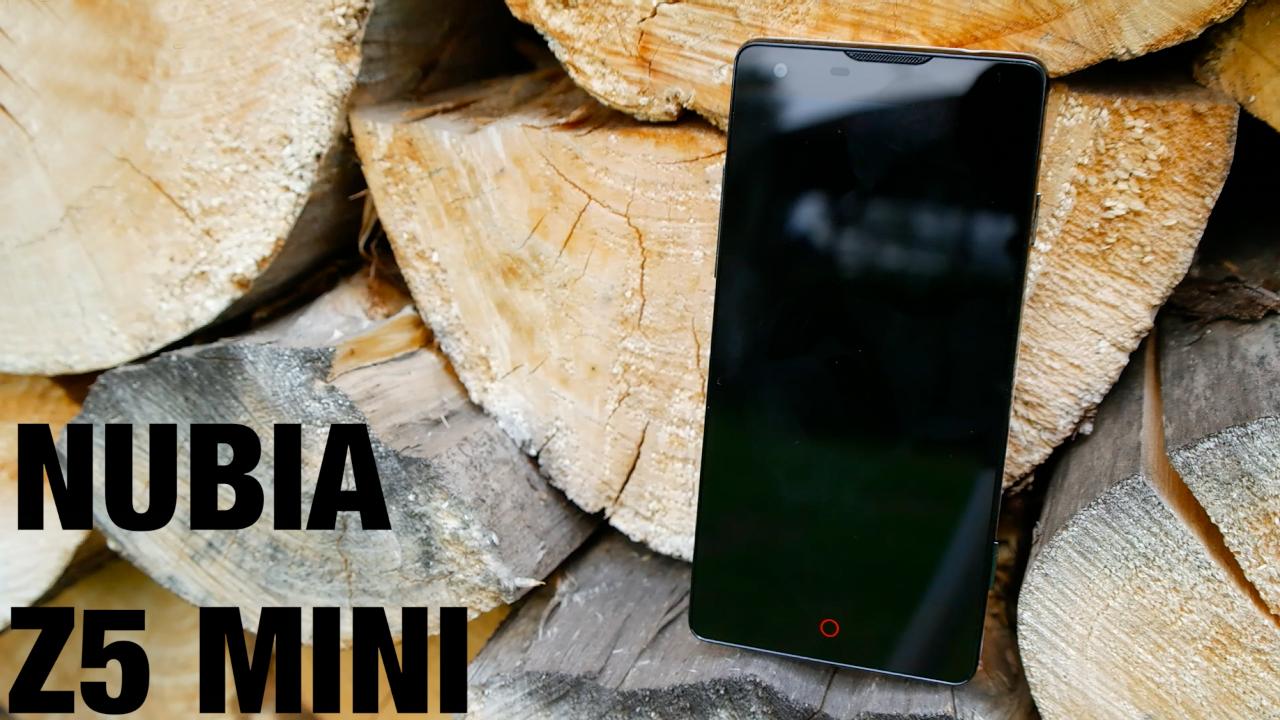 ZTE Nubia Z5 mini – videopohled
