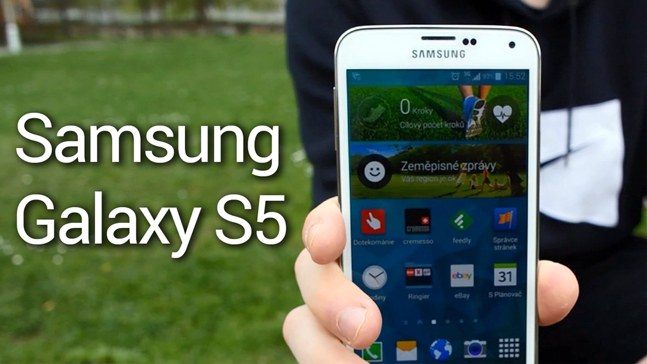 Samsung Galaxy S5 – videopohled