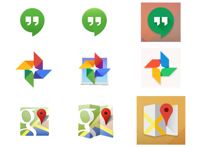 Google možná změní ikony svých aplikací