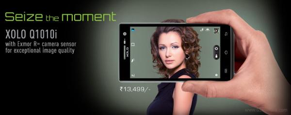 Xolo Q1010i: nové zařízení pro mobilní fotografy z Indie