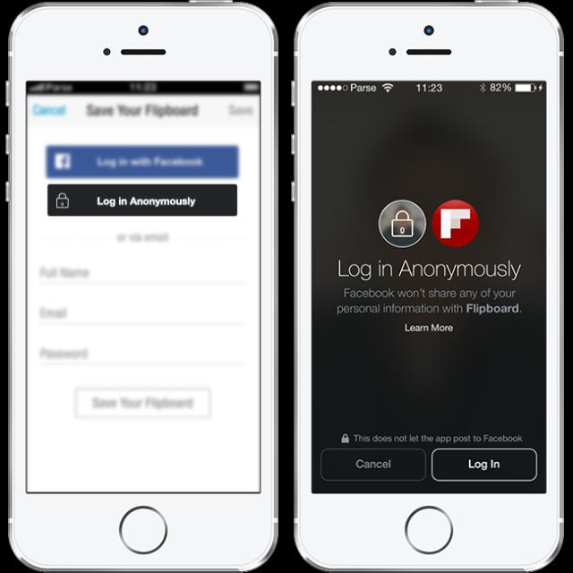 Facebook umožní anonymní přihlášení do aplikací třetích stran