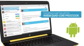 Byl spatřen notebook HP běžící na Androidu