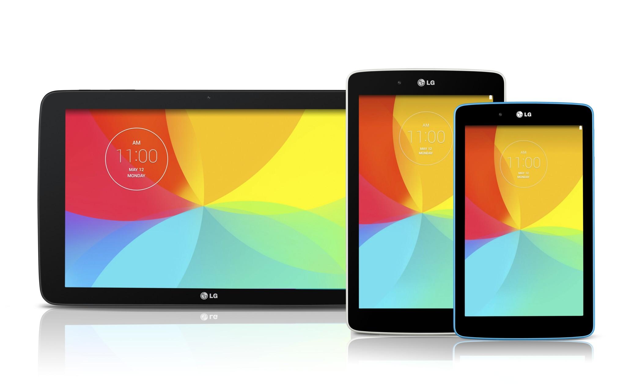 LG G Pad 7.0, 8.0 a 10.1 – zveřejněny specifikace [aktualizováno]