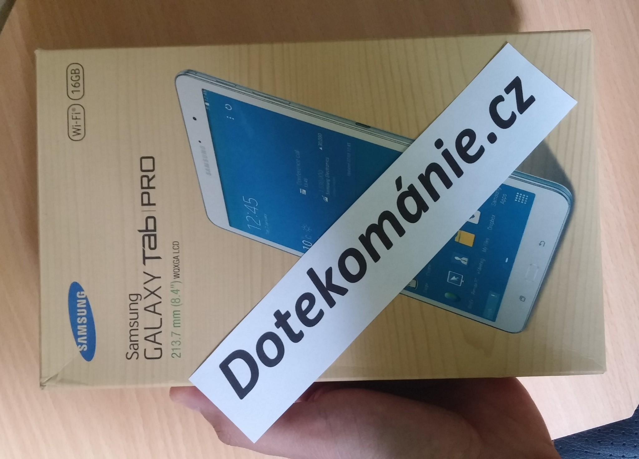 Samsung Galaxy Tab PRO 8.4 [RECENZE]