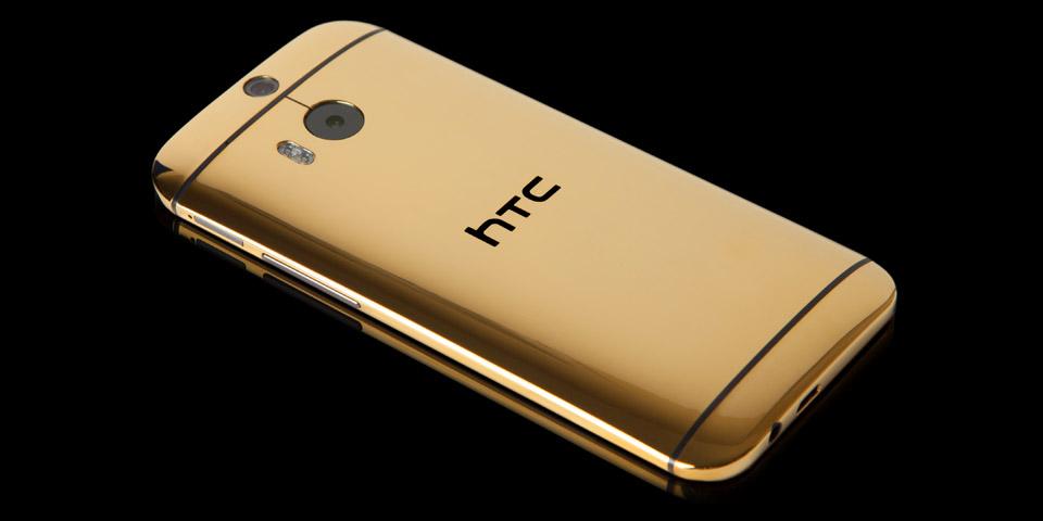 Goldgenie vyrábí zlatý One (M8) za 50 tisíc korun