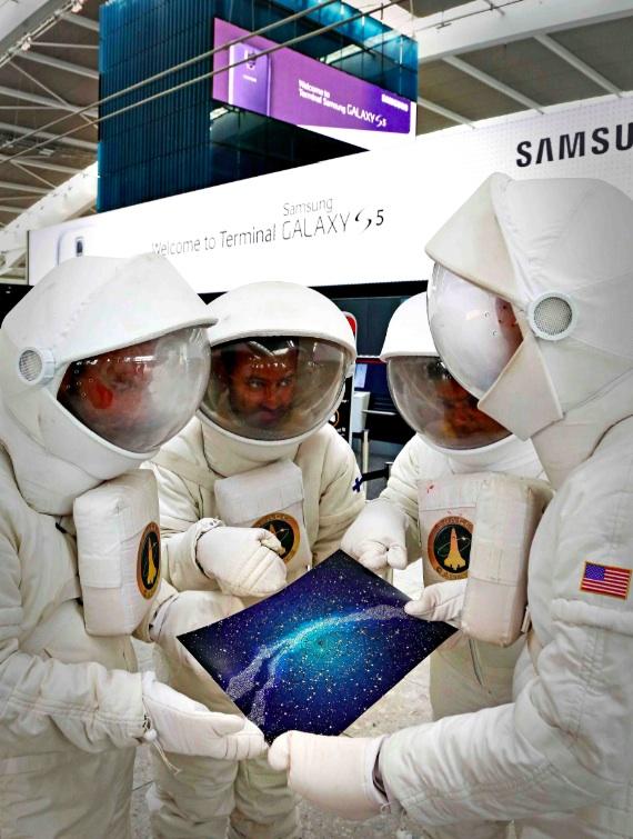 Microsoft vyslal luminauty hledat Galaxie