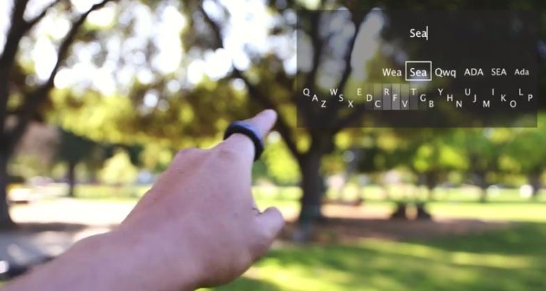 Klávesnice Minuum pro Google Glass