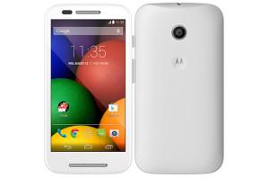 Motorola Moto E - bílá