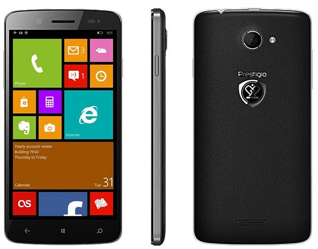 Prestigio: první Windows Phone v přípravě