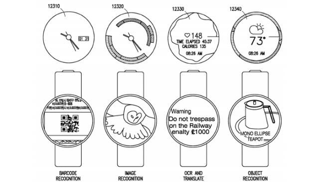 Samsung-Patent-Smartwatch-UI-and-Camera-Capture