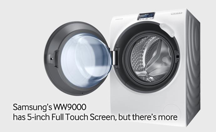 Samsung WW9000: větší displeje i do praček