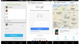 Aktualizace aplikace Správce zařízení Android