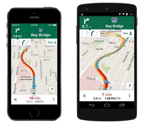 Google Mapy povyšují na verzi 8.0