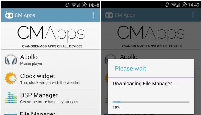 CM Apps přináší aplikace z CyanogenMod