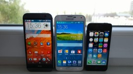 Videosrovnání – HTC One M8, Galaxy S5 a iPhone 5s