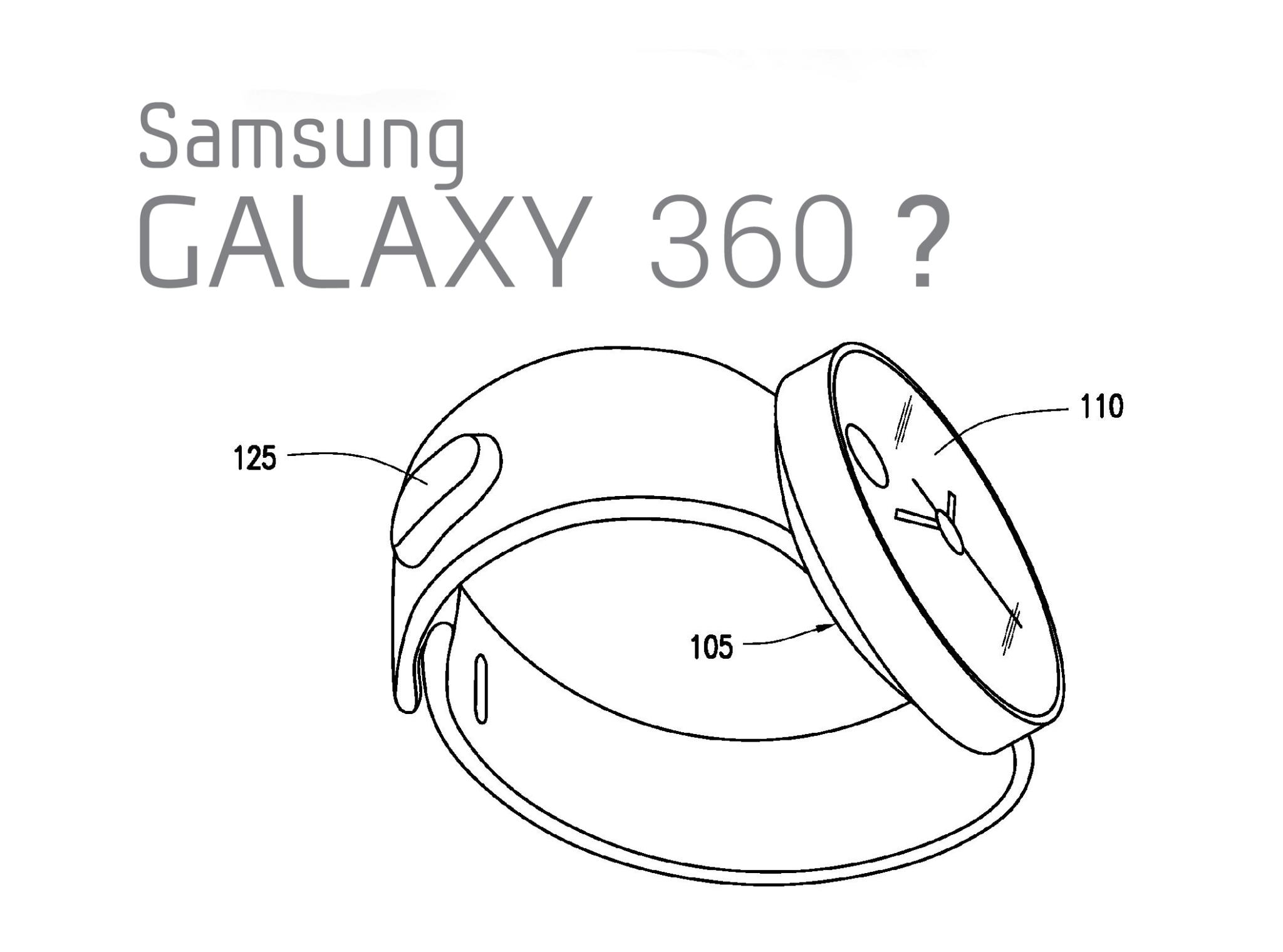Hodinky od Samsungu s kulatým displejem? [patentová přihláška]