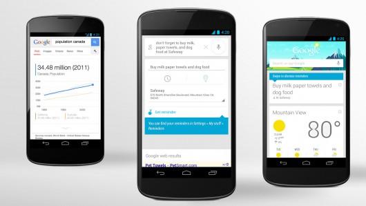 Vyhledávání Google (now) – odhalují se budoucí novinky