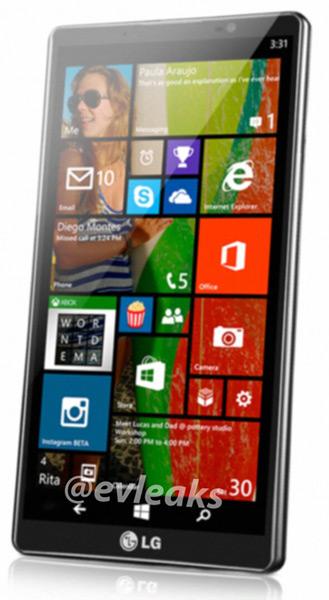 Unikl snímek nového LG zařízení s Windows Phone systémem