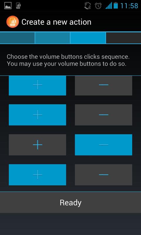 QuickClick – pořádné využití tlačítek na ovládání hlasitosti [Android]