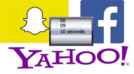 Nová konkurence pro Snapchat ze strany Facebooku a Yahoo