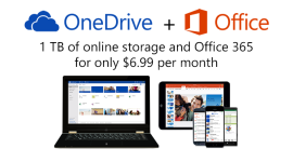 OneDrive – nově 15 GB zdarma, 1 TB s předplatným Office 365