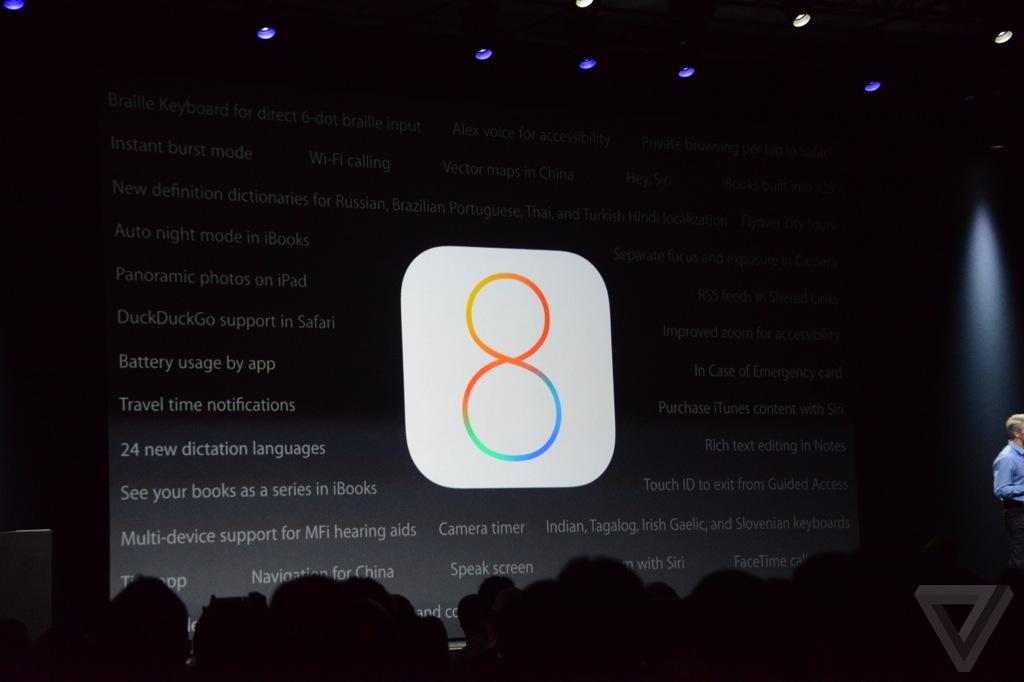 Apple představil iOS 8