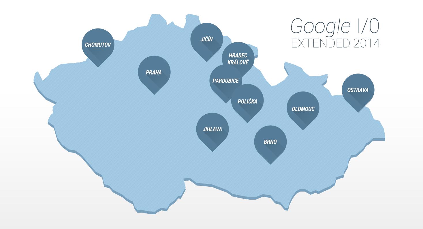 Google I/O po Česku – vyberte si nejbližší akci