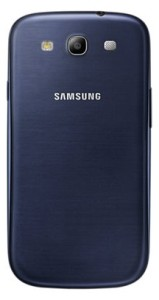 Samsung Galaxy S3 Neo - modrý zadní