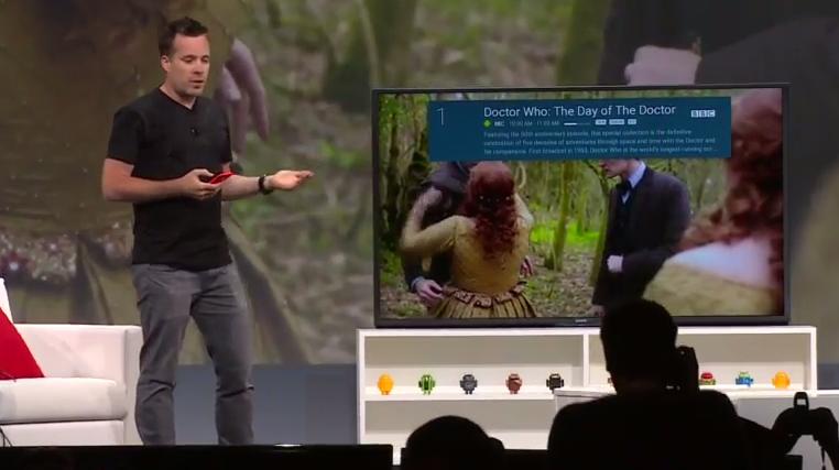 Android TV – zelený robůtek už i ve vaší televizi [Google I/O]
