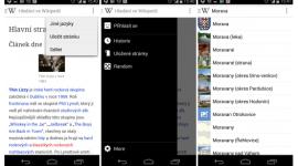 Beta aplikace Wikipedia s přepracovaným vzhledem