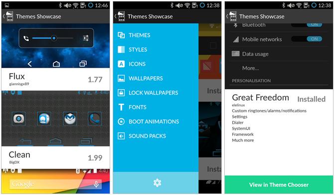 Dvě novinky od CyanogenMod – Theme Showcase a Gallery