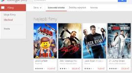 Google Play Filmy už i v České republice a na Slovensku