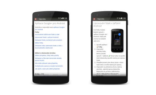 Google u svých aplikací pozmění nápovědu