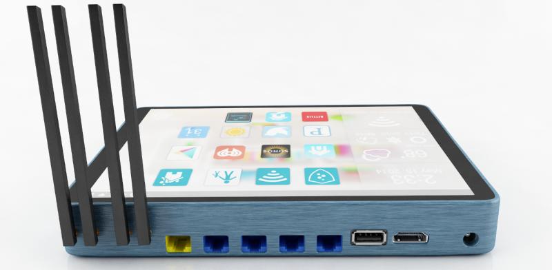 Soap – první dotykový router s Androidem