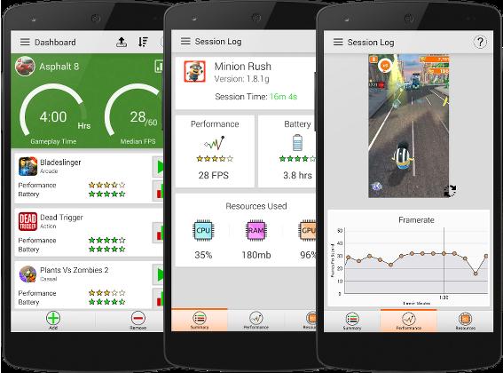 GameBench – komplexní testovací nástroj pro Android
