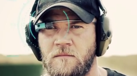 Zajímavost: S Google Glass lze přesně střílet puškou i zpoza rohu