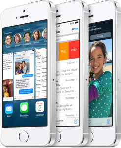 iOS 8 screens