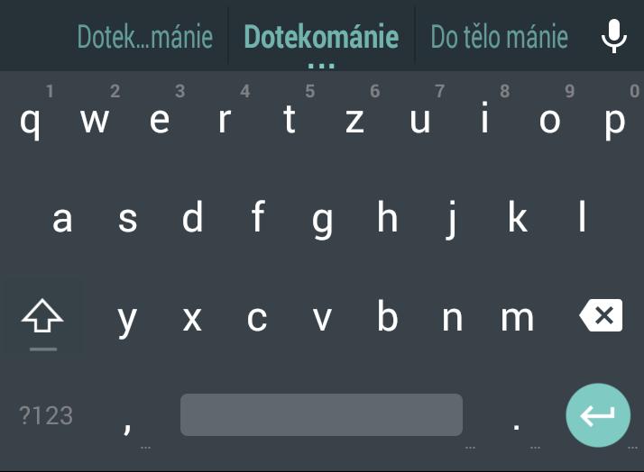 """""""Material"""" klávesnice z Androidu L funguje i na KitKatu, vyzkoušejte si ji"""