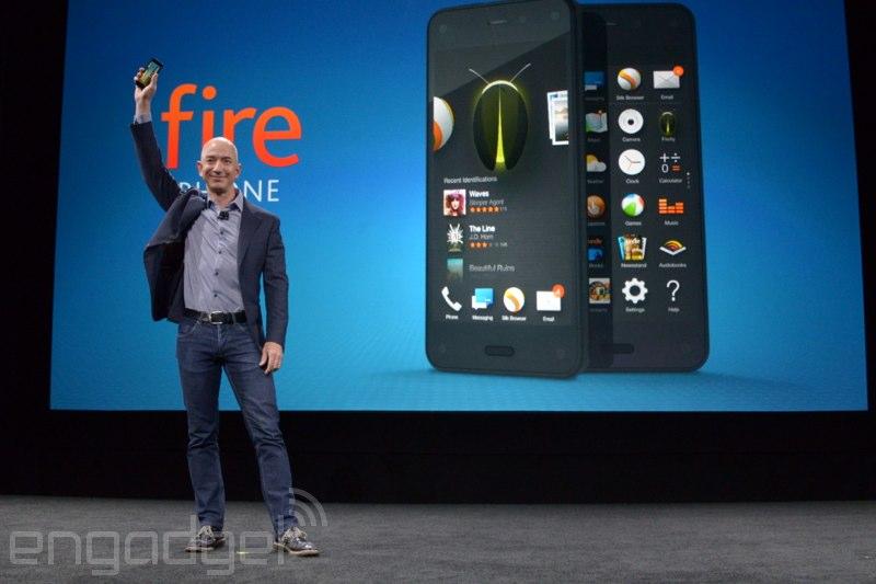 Amazon Firephone – neúspěch po dvou měsících?