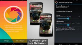 Lens Blur – Rozostřené fotky jako živé tapety [Android]