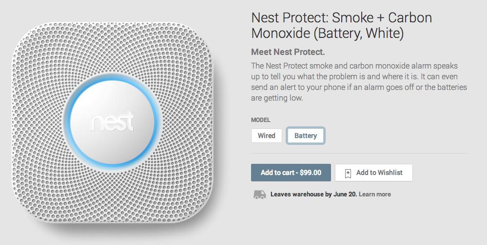 Google Play – další zařízení od Nest v obchodě