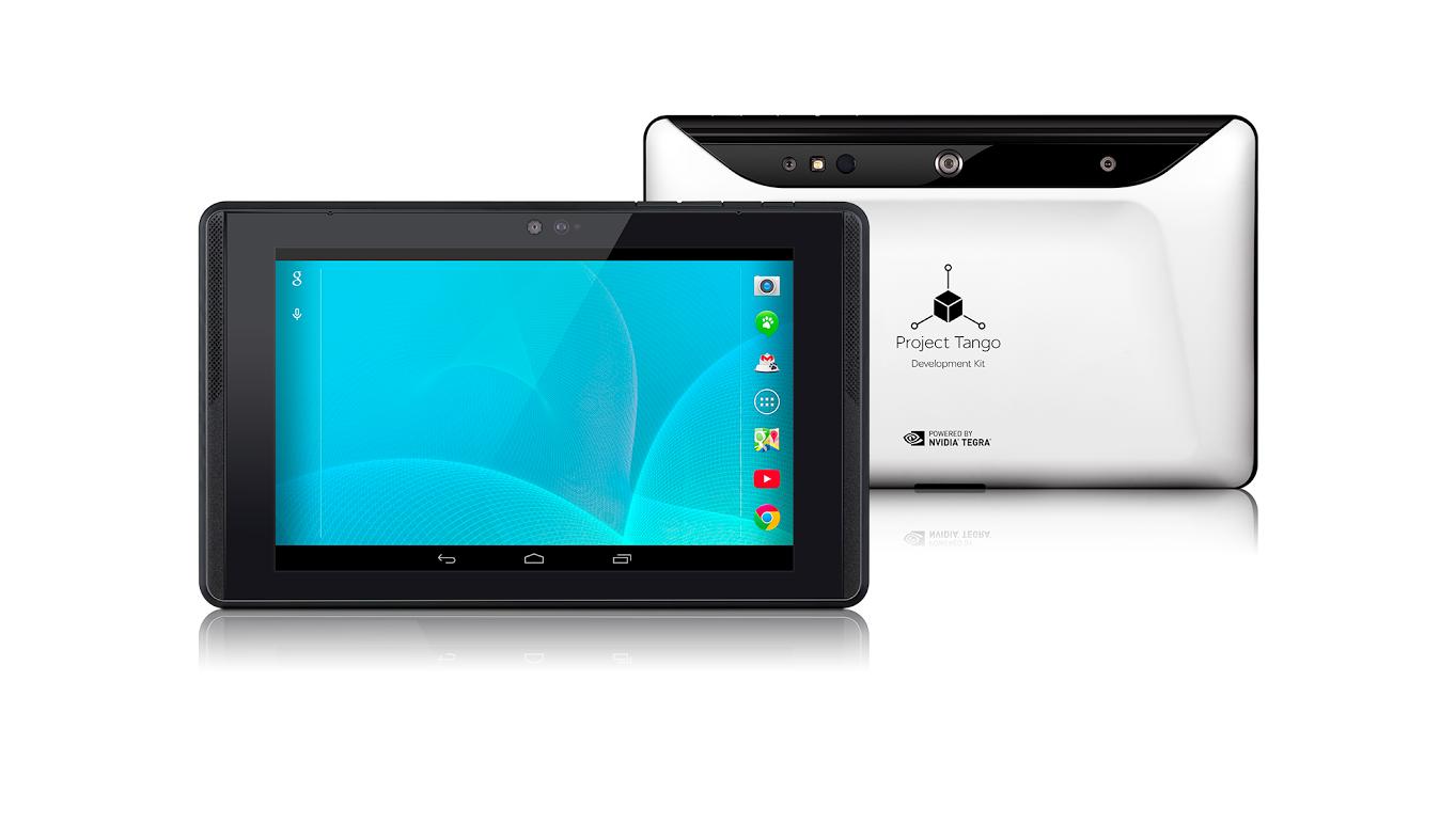 Projekt Tango Tablet – vývojářský kit od Googlu poháněný Tegrou K1