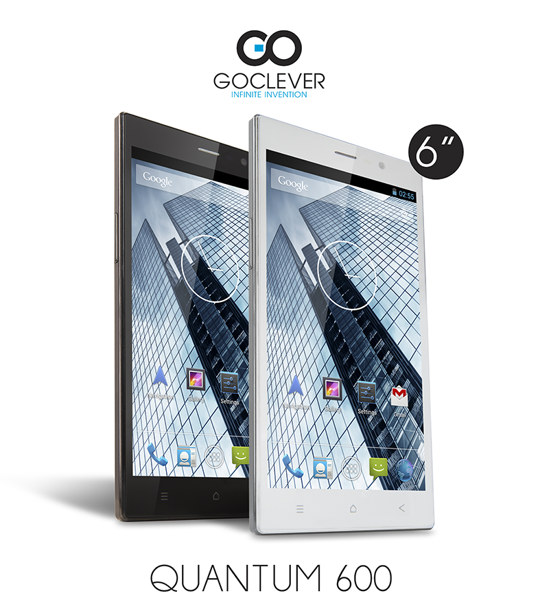 Goclever Quantum 600: tabletofon s dual-SIM a KitKatem