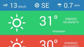 anpWeather – počasí ve stylu flat zdarma, pouze dnes [Android]