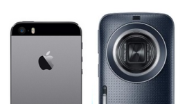 Galaxy K Zoom vs. iPhone 5s: co fotí lépe?