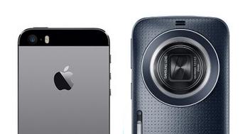 Galaxy K Zoom vs. iPhone 5s: co fotí lépe?