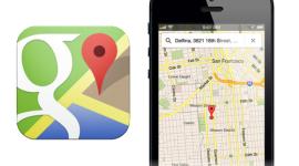 Google zaktualizoval aplikaci Mapy pro iOS